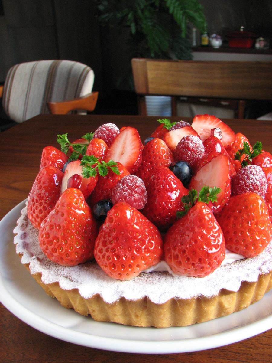Tarte fraises 15cm