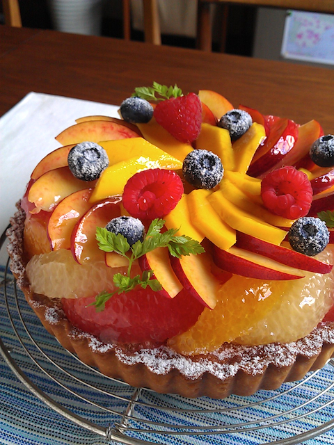 Tarte fruit φ18cm.