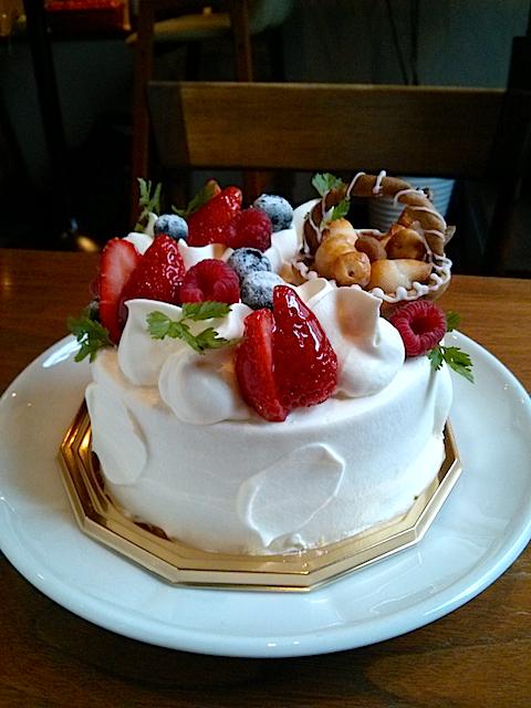 パン屋さんのバースデーケーキ
