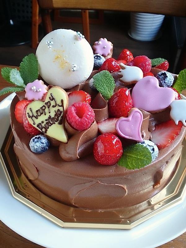 季節のショコラショートケーキ