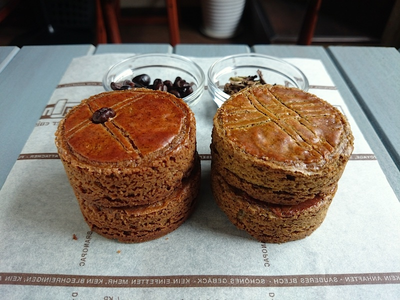 cafe & houjicha galletes