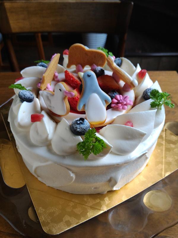 動物のショートケーキ