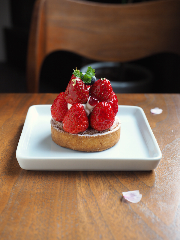 Strawberry special tart.